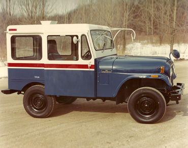Dispatcher Postal Jeep