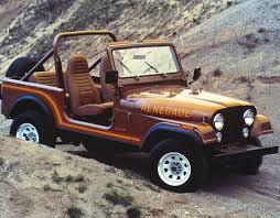 1976 - 1986 Jeep CJ7