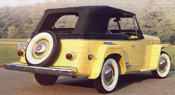 Jeepster yellow
