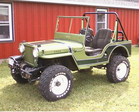 1941 1964 Jeep Mb Cj2a 3a 3b M38